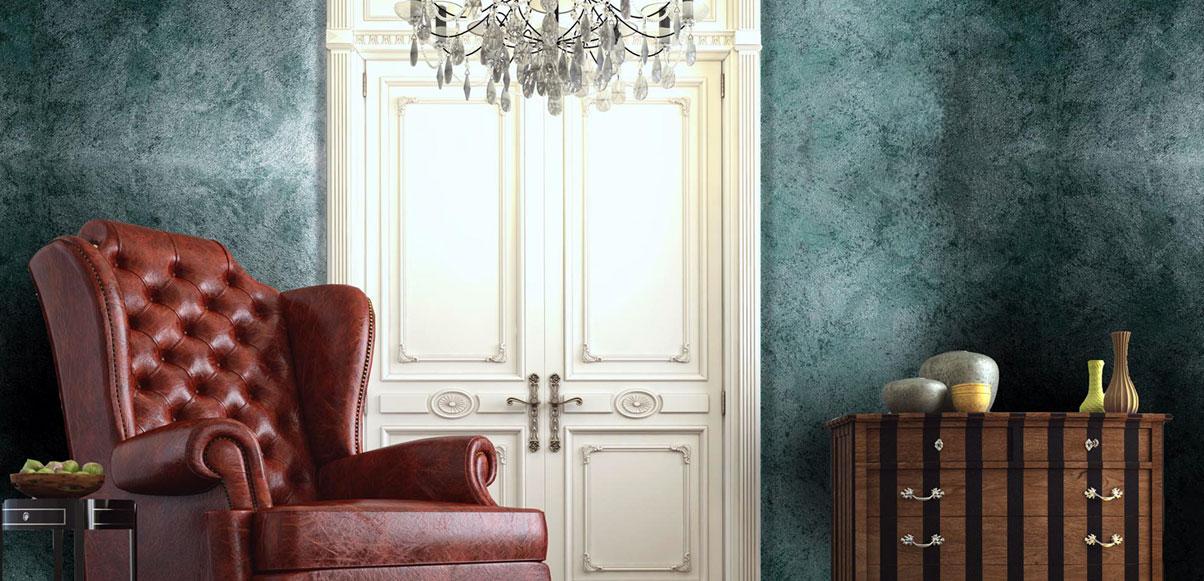 Декоративные краски для стен и потолков