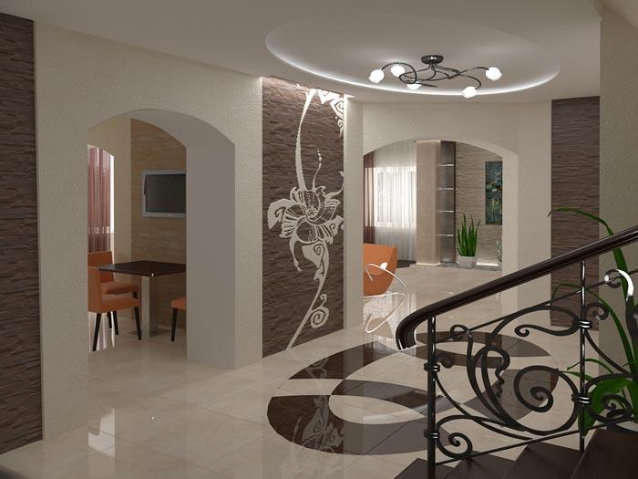отделка стен в стиле модерн
