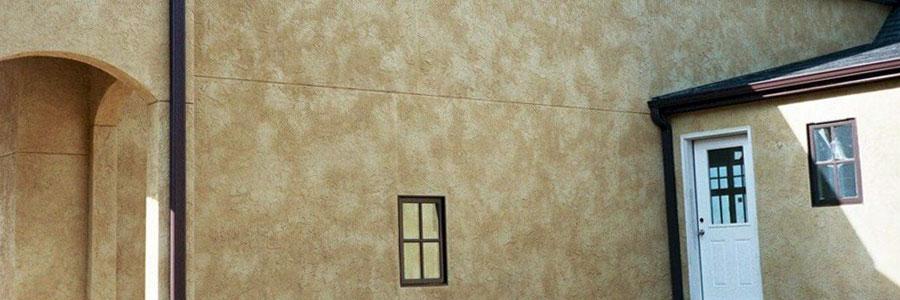 дизайн фасада декоративной краской